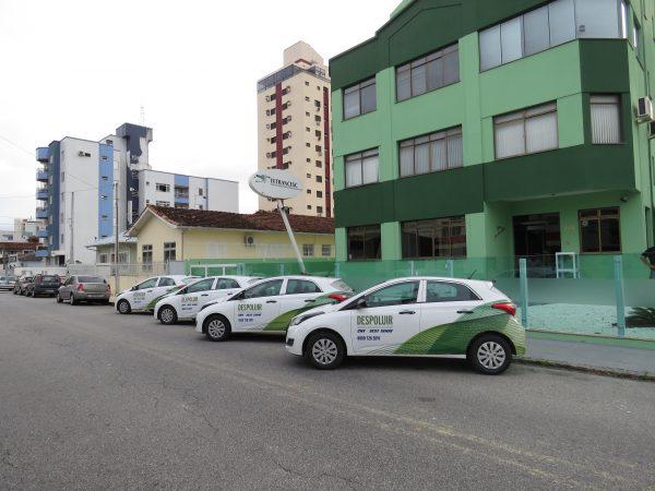 Foto/Divulgação: A nova frota foi entregue na sede da Fetrancesc, em Florianópolis