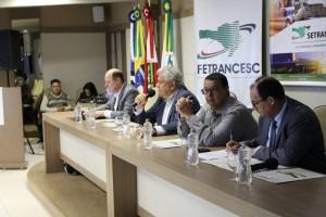 Foto/Divulgação: Última reunião itinerante da Fetrancesc, em Tubarão